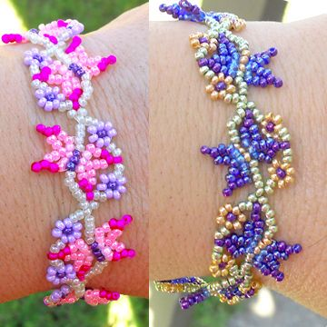 free beaded butterfly instructions