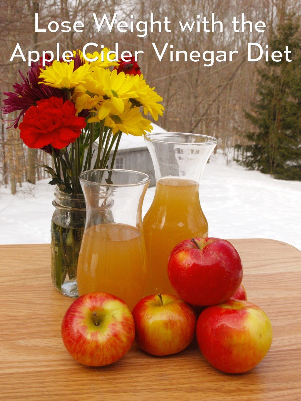 apple cider vinegar instructions for weight loss