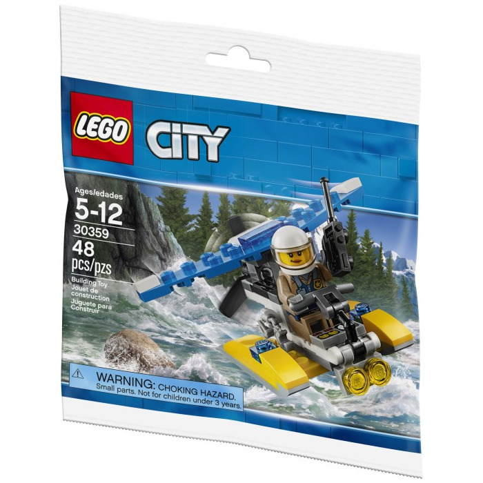 lego police plane instructions