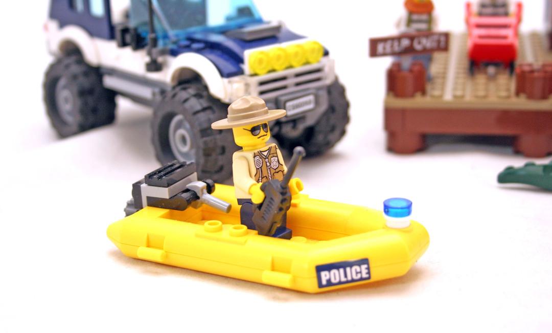 lego city crooks hideout instructions