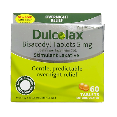 dulcolax tablets dosage instructions