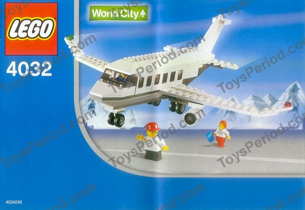 lego airplane set instructions