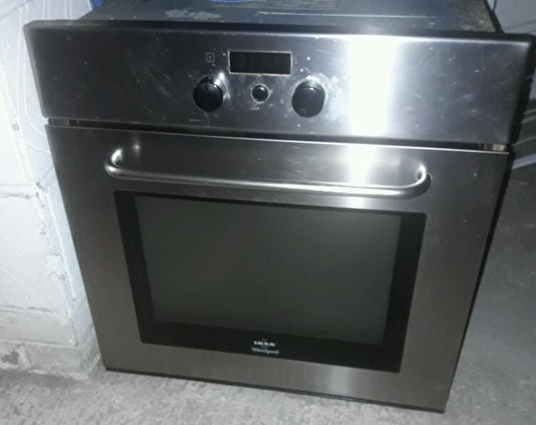 ikea whirlpool oven instructions