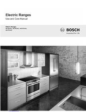 bosch warming drawer instructions