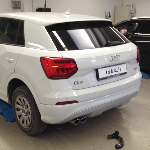 audi a6 towbar fitting instructions