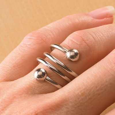 weight loss toe ring instructions