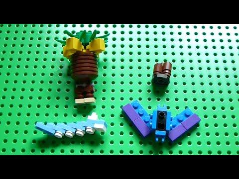 how to make lego pokemon instructions