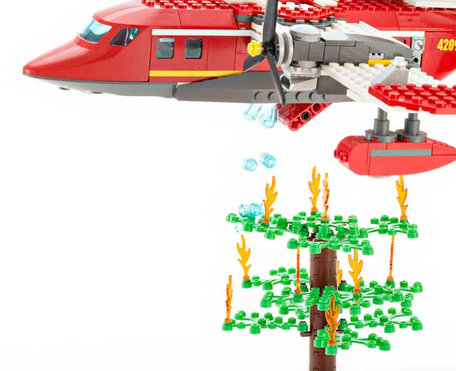 lego city fire plane 4209 instructions