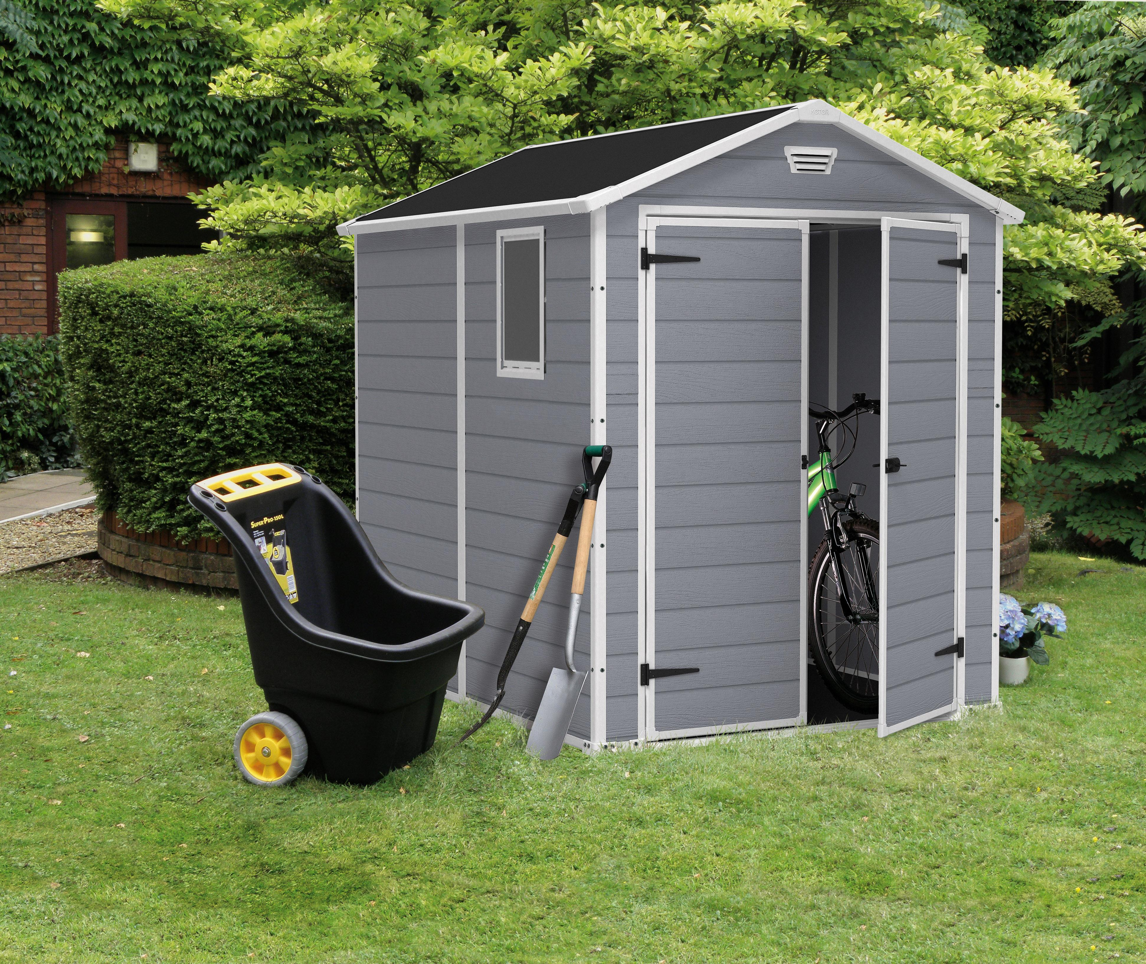 keter 6 x 6 shed instructions