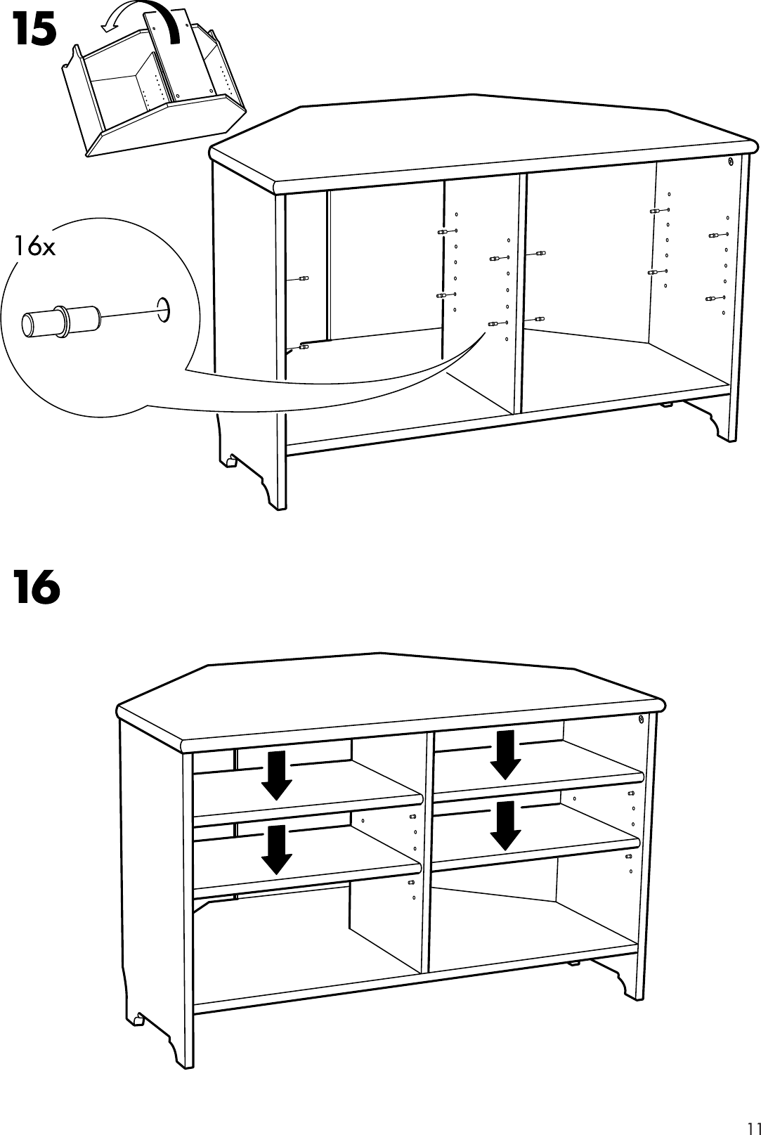 ikea leksvik crib instructions