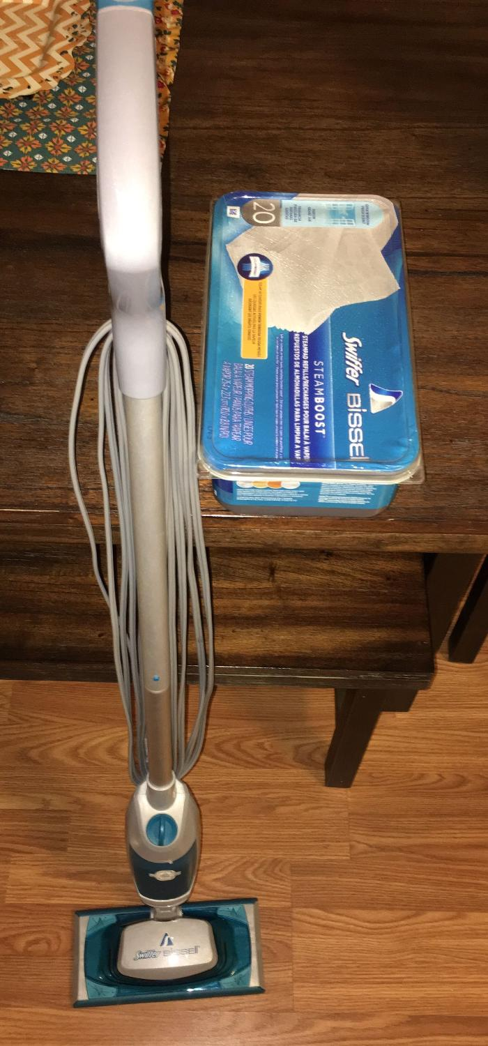 bissell steam mop max instructions