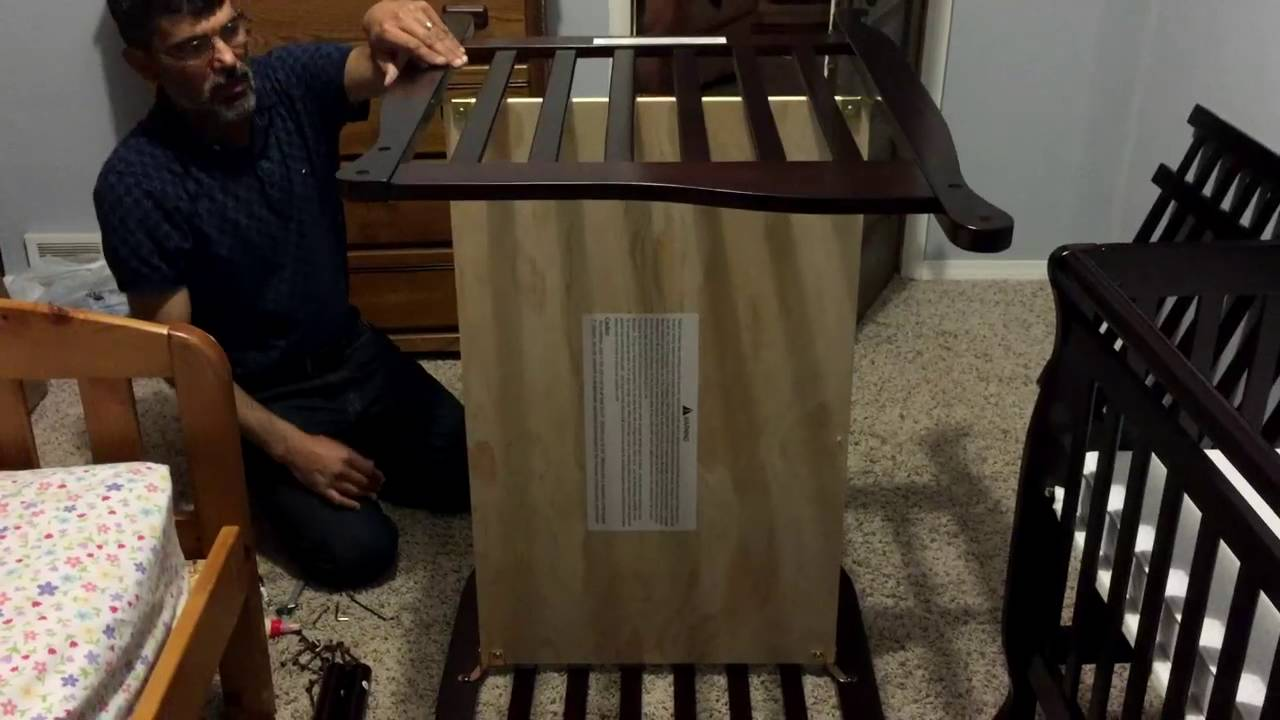 genesis cot assembly instructions