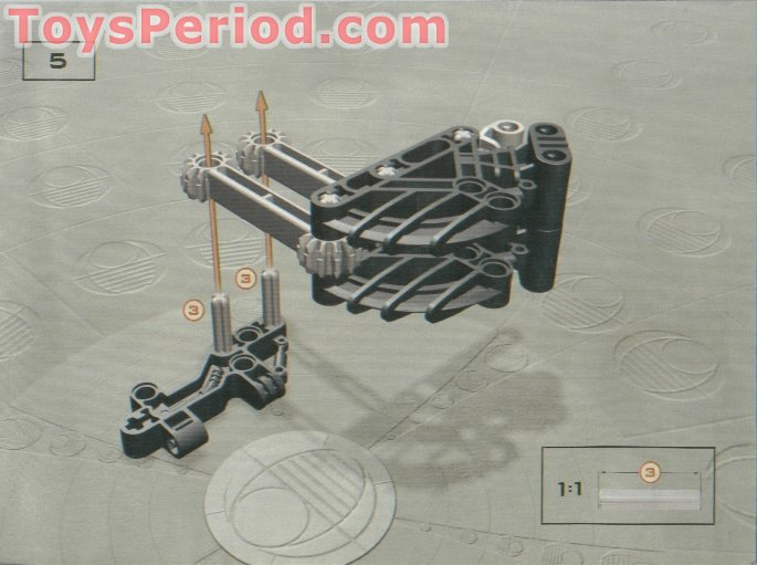 bionicle bohrok kal instructions