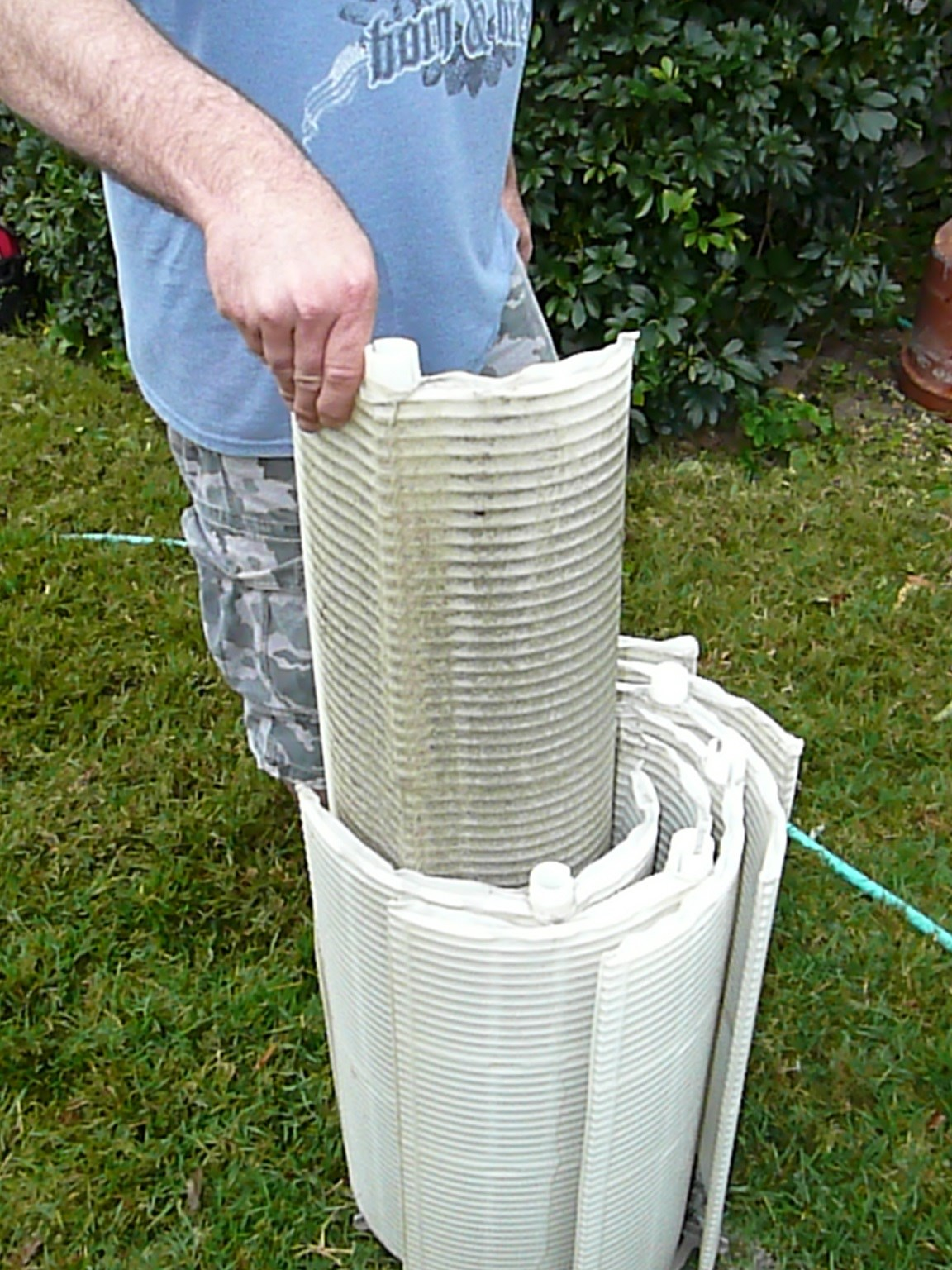 pentair de pool filter cleaning instructions