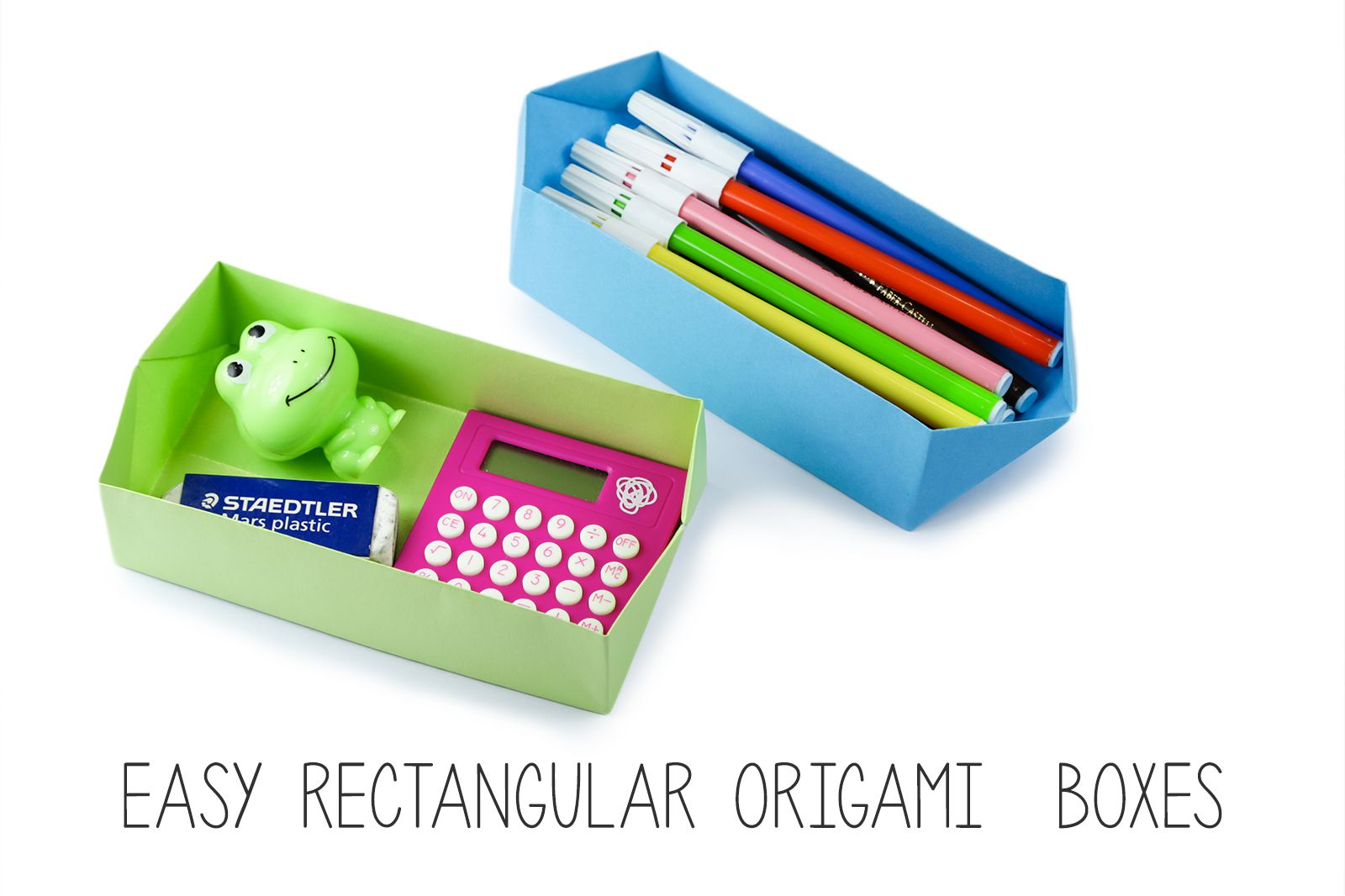 easy origami box folding instructions