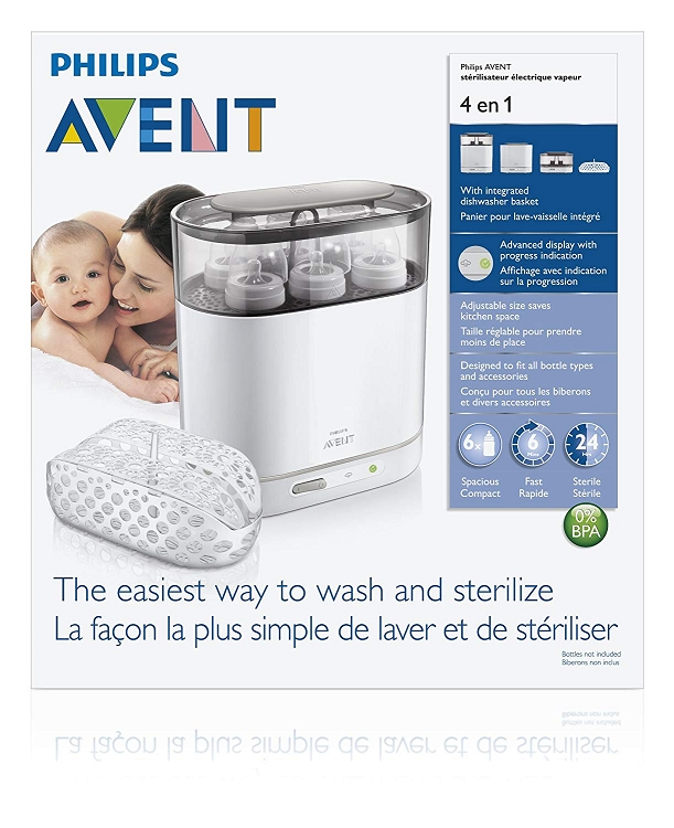 avent 4 in 1 sterilizer instructions