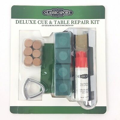 eastpoint deluxe cue repair kit instructions