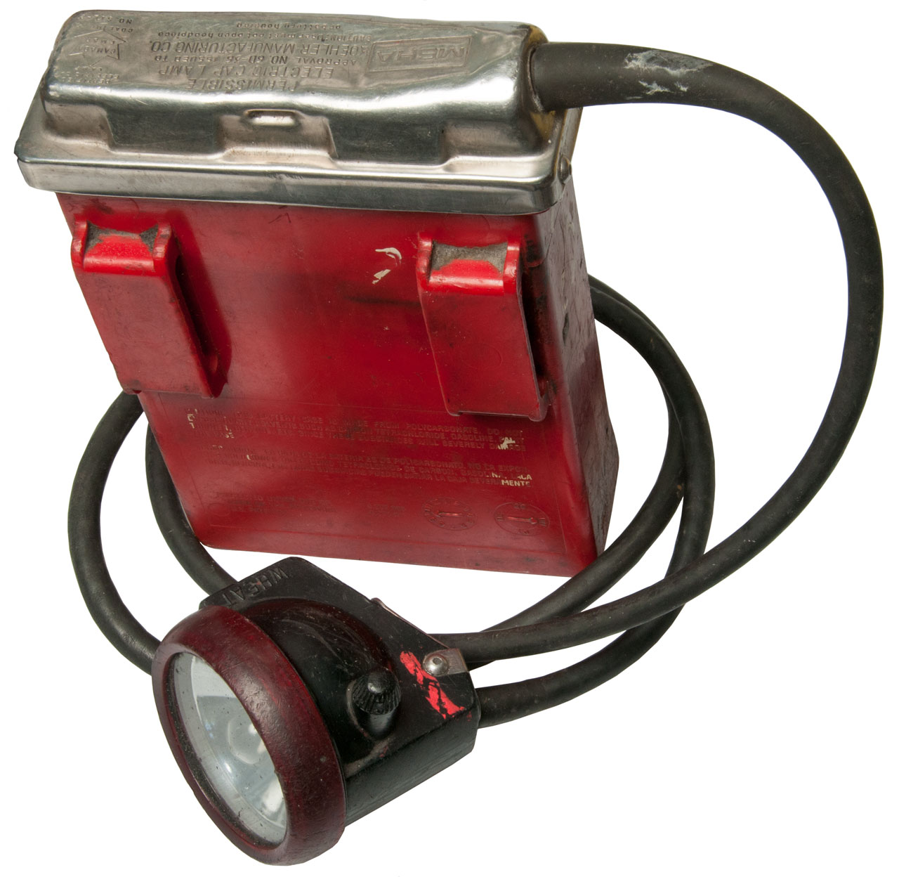 koehler flame safety lamp instructions