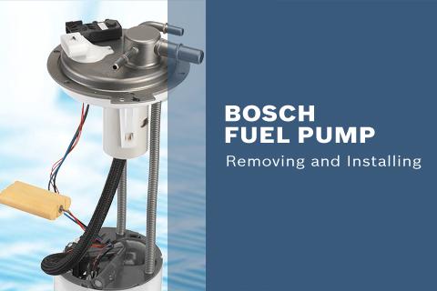 bosch fuel pump installation instructions