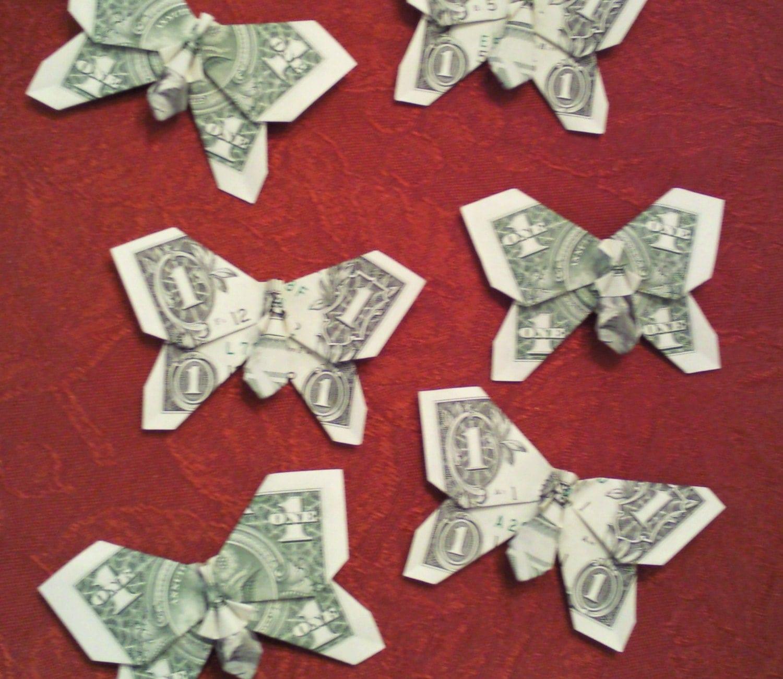 dollar bill origami instructions
