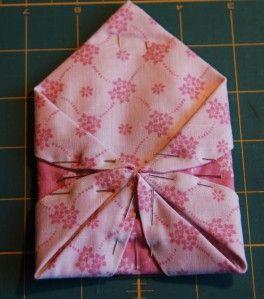 japanese folded patchwork instructions