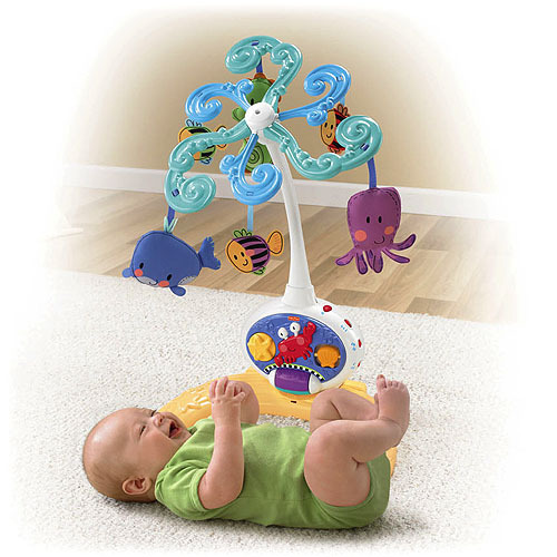 fisher price rainforest grow with me projection mobile instructions