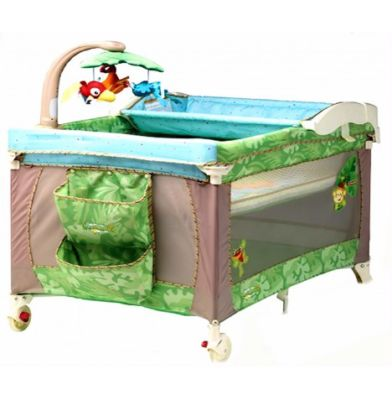 fisher price travel cot instructions
