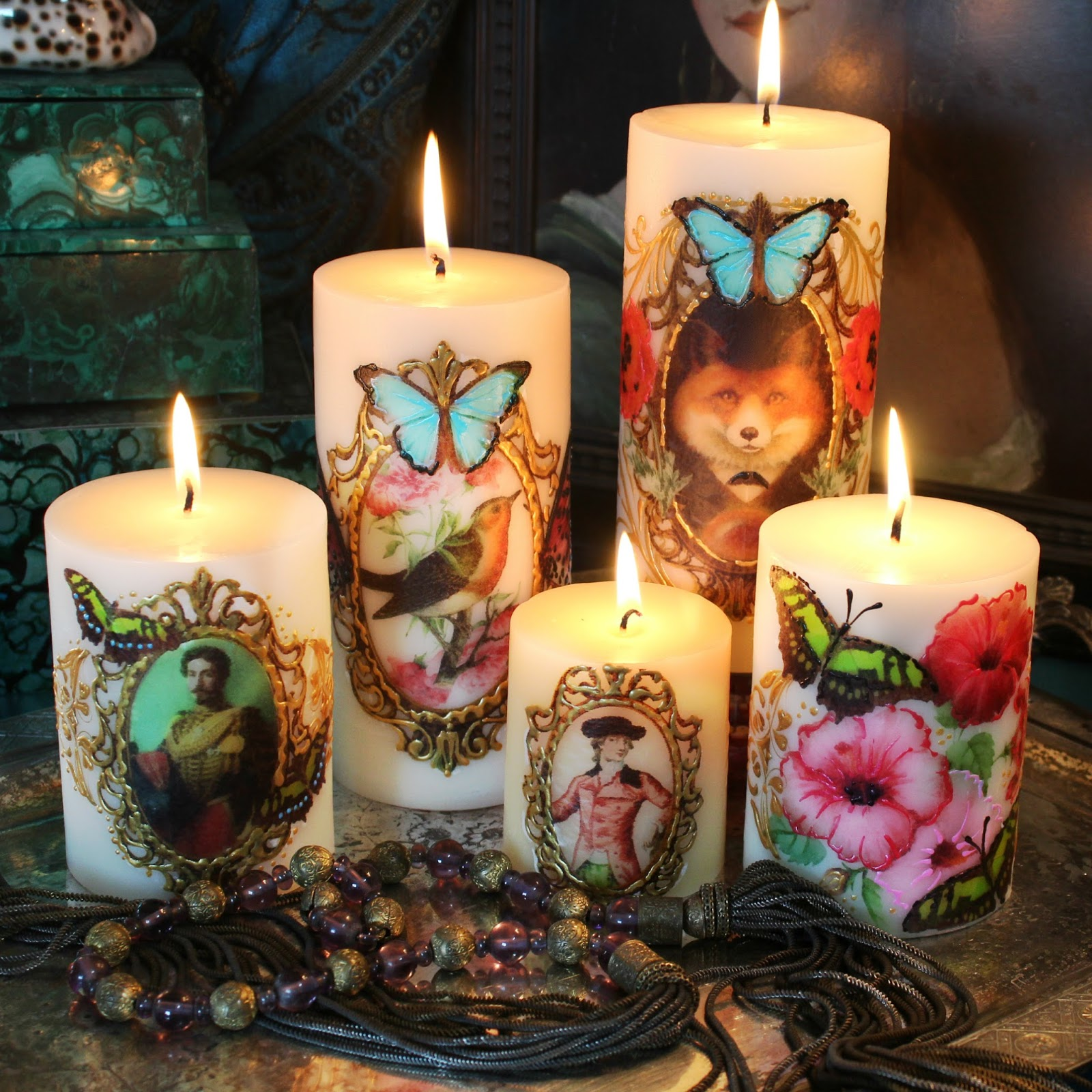 free candle making instructions