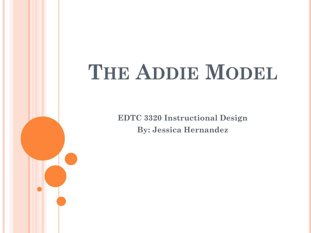 instructional design models ppt
