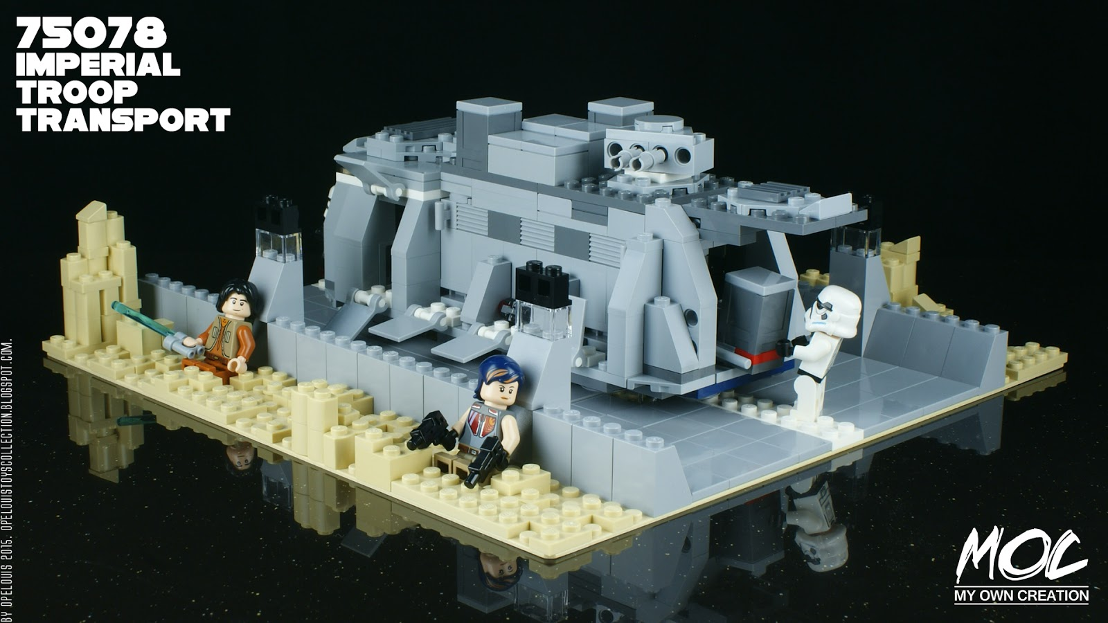 lego imperial walker instructions