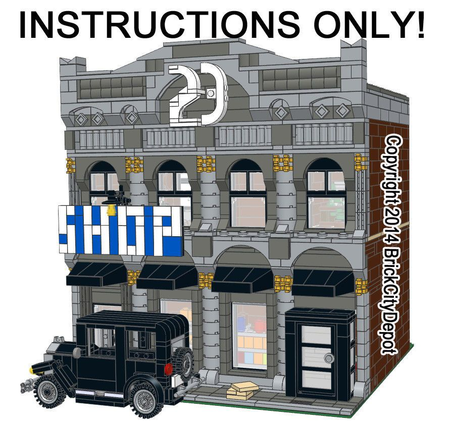 lego modular building instructions