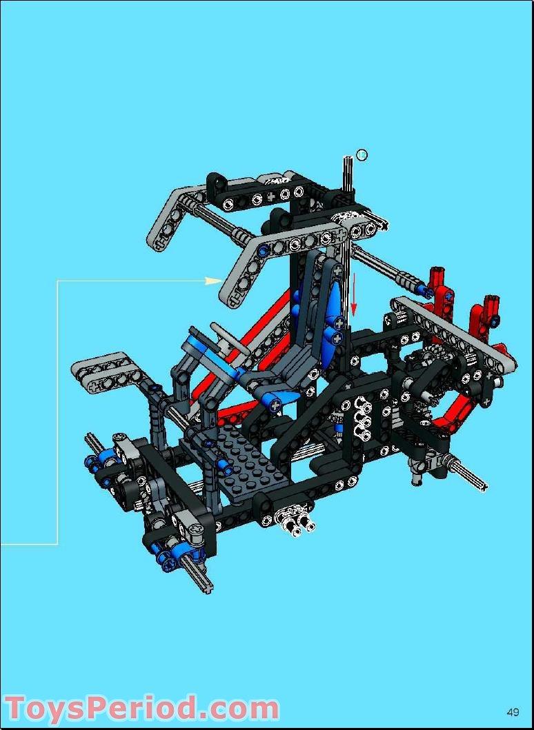 lego technic crawler crane 8288 instructions