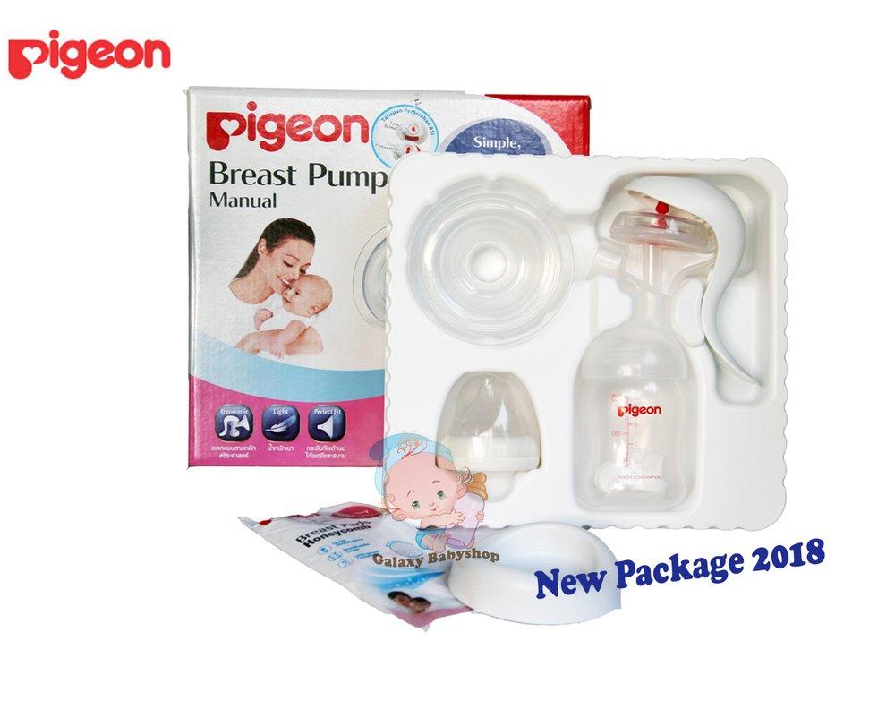 pigeon manual breast pump instructions