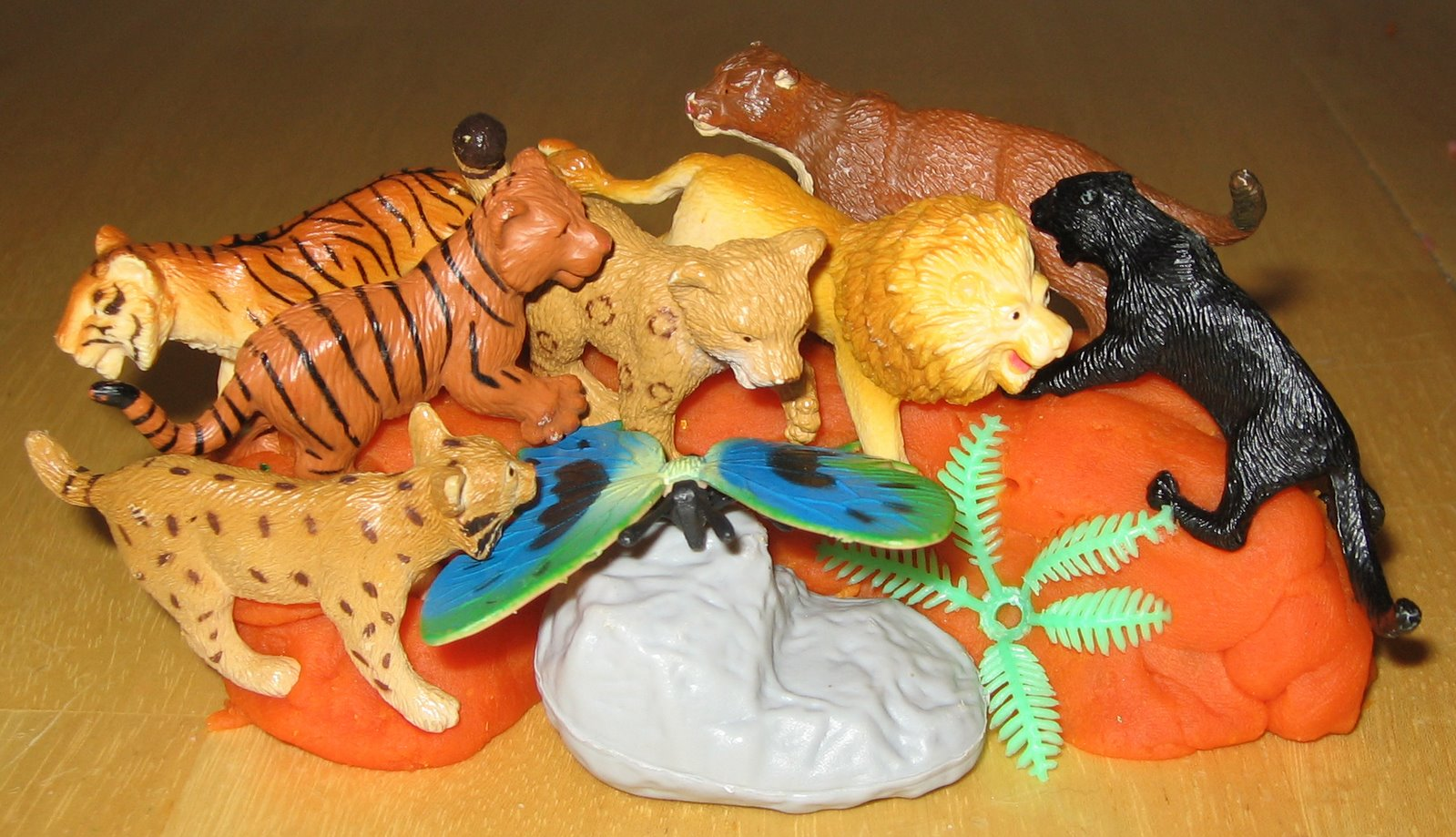 play dough animals instructions