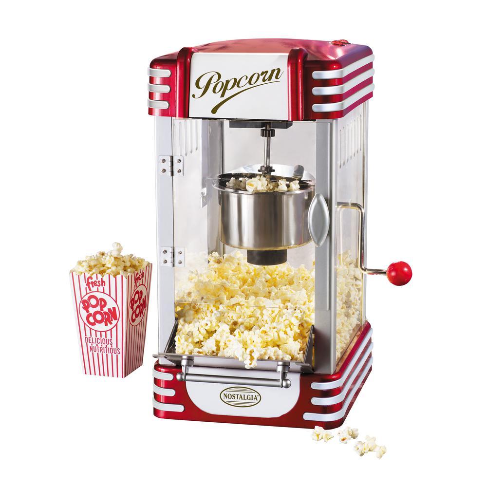 retro popcorn maker instructions