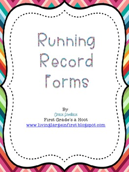 running record easy instructional hard