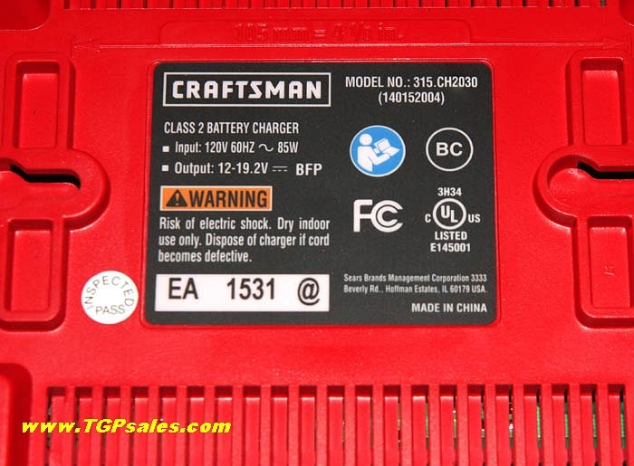 sca battery charger instructions