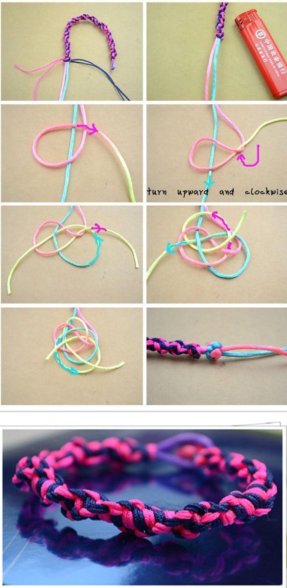 simple paracord bracelet instructions