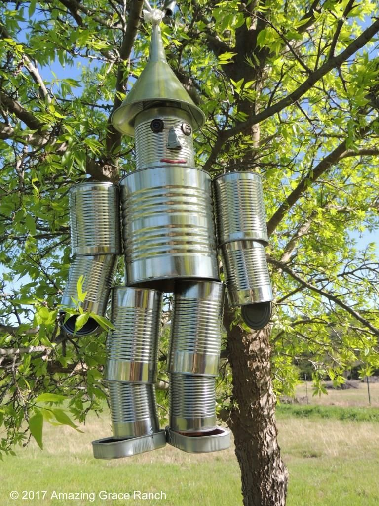 tin man wind chime instructions