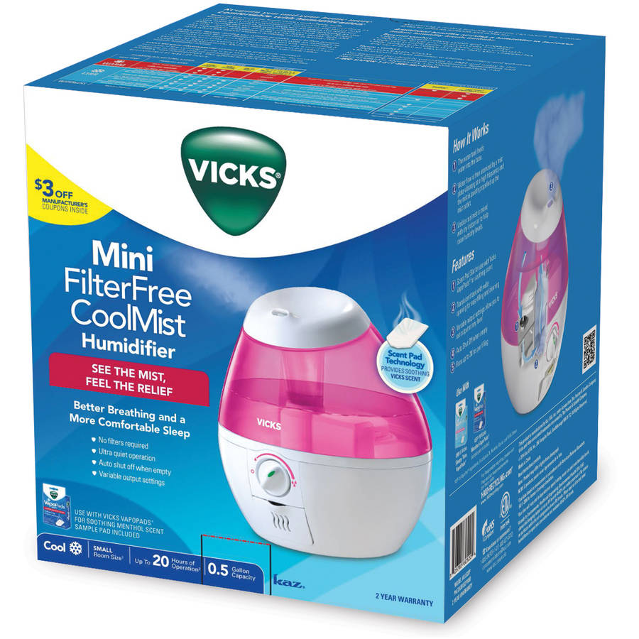 vicks filter free cool mist humidifier instructions